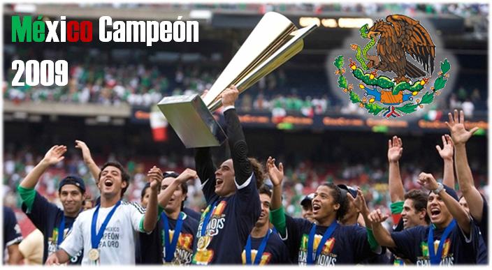 mexico campeon concacaf 2009