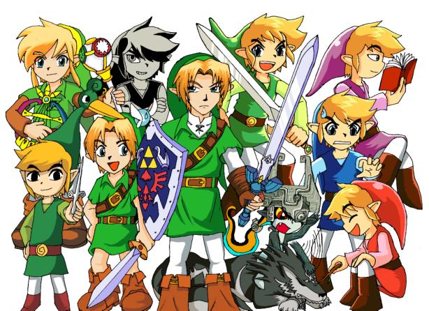 The_Legends_of_Zelda_by_Messengerrobo