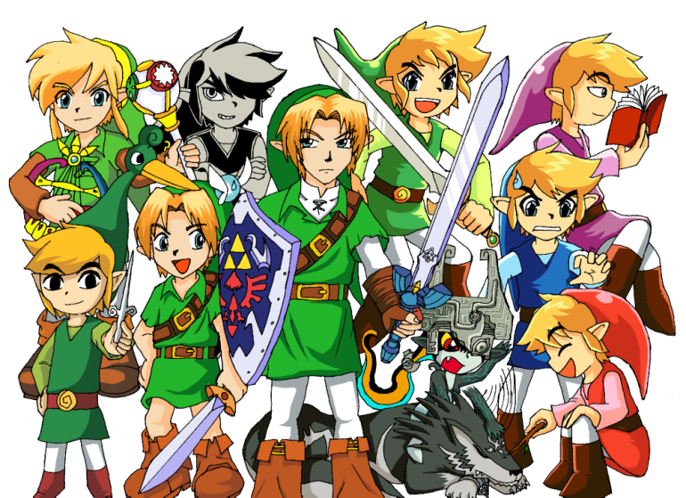 The_Legends_of_Zelda_by_Messengerrobo