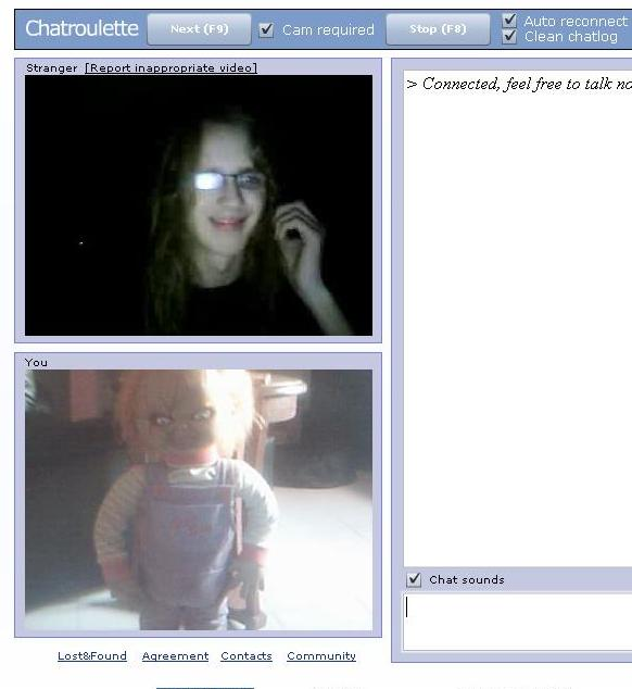 chatroulette webcams
